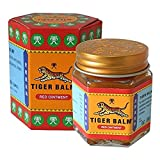 Tiger Balm Red Extra strength Herbal Rub Muscles Headache Pain Relief Ointment Big Jar, 30g (Thailand Edition)