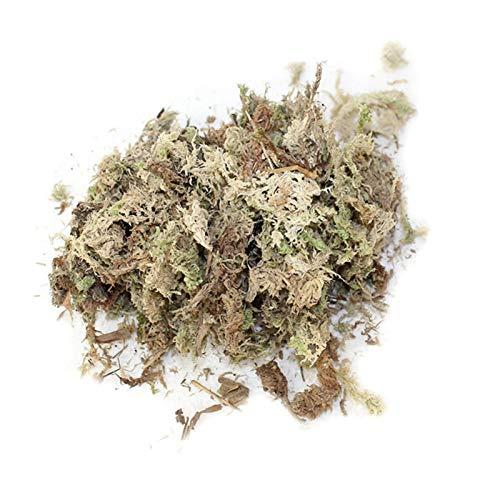 palatable Musgo de Sphagnum, musgo seco, musgo, musgo seco, sustrato de abono orgánico para bonsáis, orquídeas, sustrato seco, 6 l