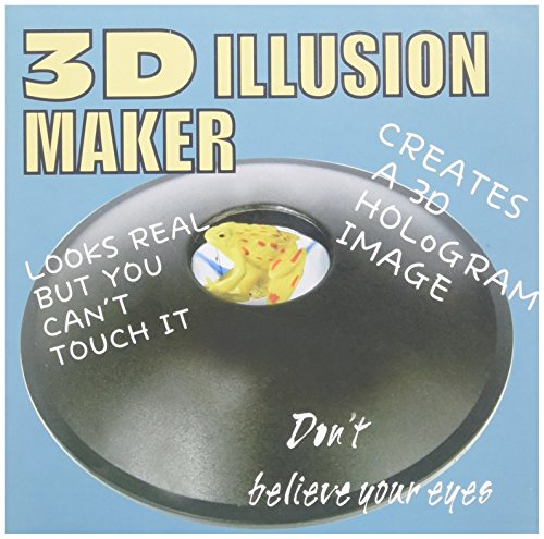 PowerTRC 6' 3-D Mirascope, Illusion Maker | Optical Illusions | 3-D Effect Toy