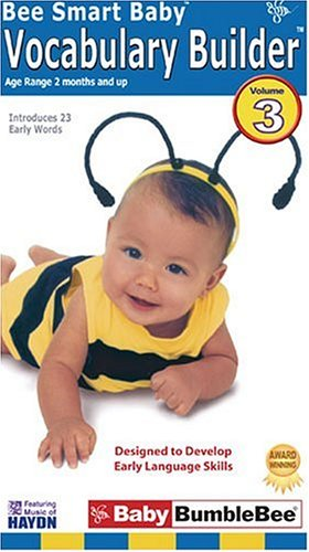 Price comparison product image Bee Smart Baby,  Vocabulary Builder 3 - an educational video for infants & toddlers [VHS]