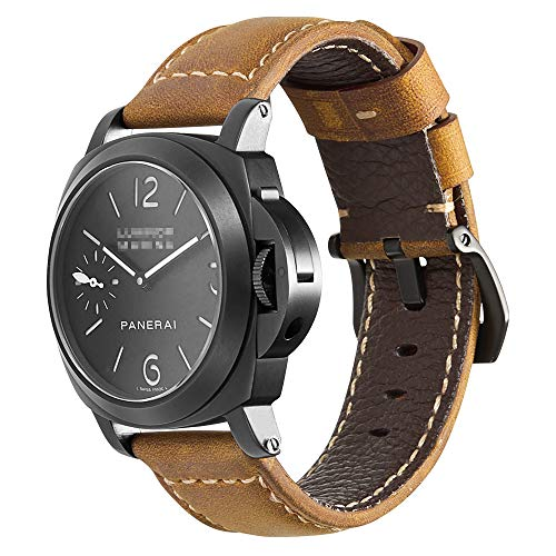iStrap Cinturino orologio 20mm 22mm 24mm 26mm Cinturino orologio militare...