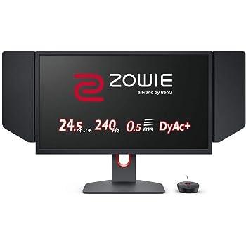 BenQ ZOWIE XL2546K 24.5型ゲーミングモニター (Full HD/24.5型/240Hz/0.5ms/DyAc+/小さめ台座/新筐体デザイン/新OSDメニュー/新型液晶パネル採用)