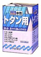 サンデーペイント 水性トタン用塗料 ネズミ 14kg