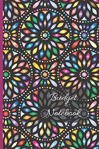 Budget Notebook: Balance Sheet Planner   Keep Track of Your Finances   Record Income and Expenses   Personal Finance Record Notebook   Stained Glass Design Cover