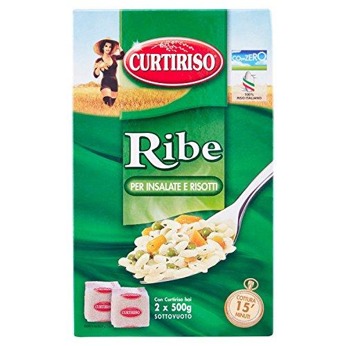 Curtiriso - Riso Ribe, per Insalate e Risotti - 10 pezzi da 1 kg [10 kg]