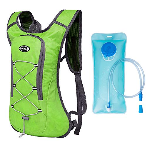 Lixada WEST BIKING Waterproof Bicycle Bag Cycling Backpack Breathable 10L Ultralight Bike Water Bag Climbing Cycling Hydration Backpack