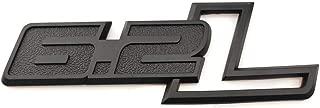 6.2L Emblem Side Fender 3D Decal Sticker Replacement for F-150 Raptor F150 Matte Black