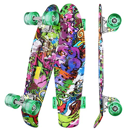WeSkate Mini Cruiser Skateboard...