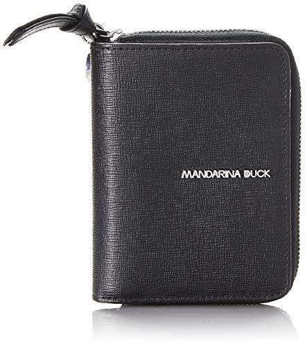 Mandarina Duck Essential, Portafoglio Donna, Nero (Black), 1.5x9x12 cm (W x H x L)