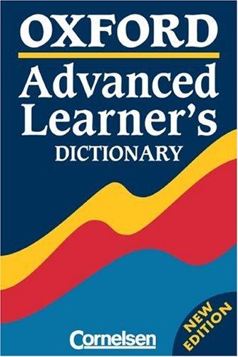 Oxford Advanced Learner's Dictionary - 6th Edition: Wörterbuch: Kartoniert