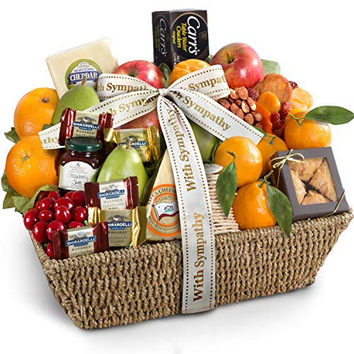 Golden State Fruit with Sympathy California Farmstead Fruit Gift Basket
