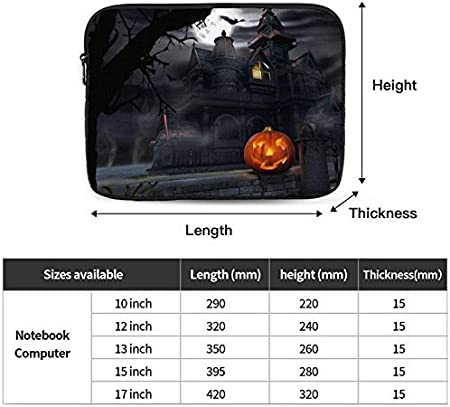Happy Thanksgiving Turkey Laptop Sleeve Shockproof Notebook Briefcase Laptop Case Protective Bag Tablet Carrying Case 10-17 Inch