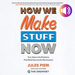 How We Make Stuff Now cover art