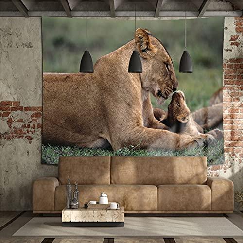 YYRAIN Tapisserie De Style Animal Nordique Décoration Literie Couvre-Lit Dortoir Table De Chevet Tissu Suspendu 59x70.86 Inch {150x180cm} B