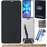HYYT Replacement for Huawei Honor 8X Honor View 10 Lite JSN-L11 JSN-L21 JSN-L22 LCD Display Touch Screen Digitizer Assembly with 1 Piece Screen Protector and 1 Installation Tools(Black)