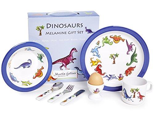 Martin Gulliver Designs Dinosaurier-Geschenkset, 7-teilig