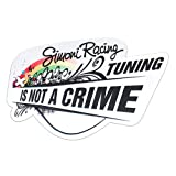 Simoni Racing SCS/BOW Adesivo ' Tuning is Not a Crime'