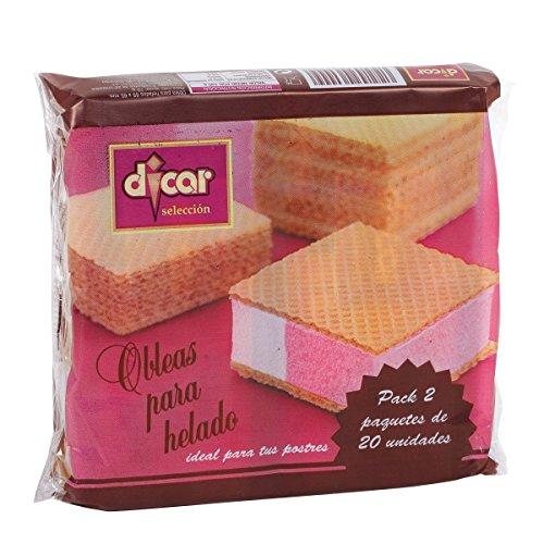DICAR obleas para helado paquete 70 gr