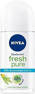 nivea pure deodorant