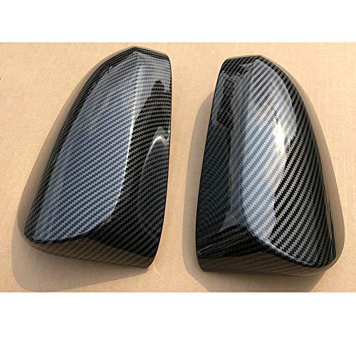 Lfldmj AutozubehörModelle Kohlefaser Rückspiegelabdeckung Rückspiegelgehäuse, Für Toyota Yaris 2012~2019