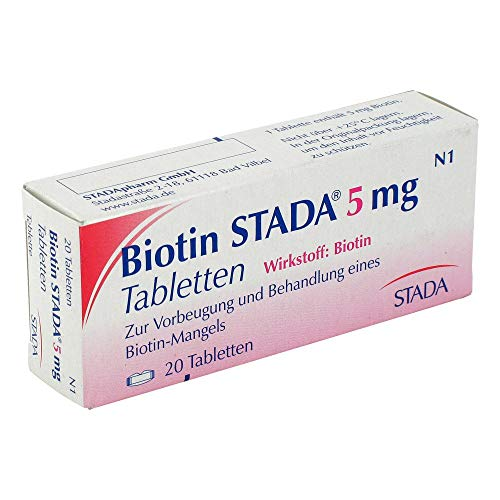 BIOTIN STADA 5 mg Tabletten 20 St
