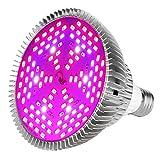 MORSEN LED植物育成ライト E26口金 フルスペクトラム 植物育成用ランプ 水耕栽培ライト 室内用ライト 省エネ 長寿命 ガーデニング 家庭菜園 園芸用品 80W相当