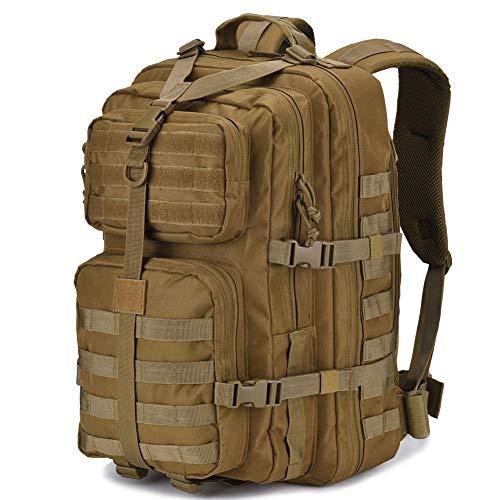DIGBUG Mochila táctica militar grande para 3 días de asalto, mochila para insectos, mochilas para deportes al aire libre, senderismo, camping, caza, 40 l, color marrón