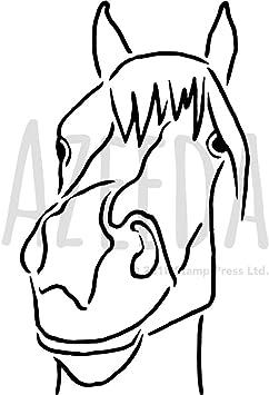 Malvorlage Pferdekopf Einfach Coloring And Malvorlagan 2
