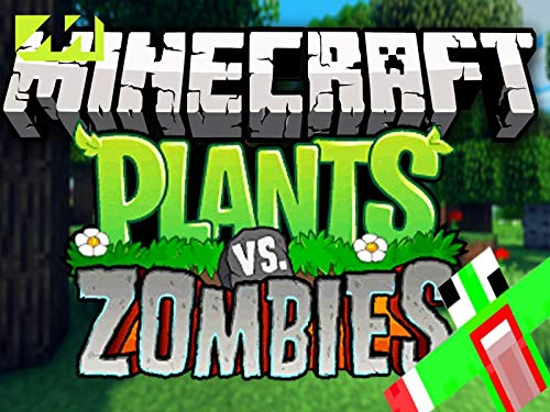 Clip: Minecraft Plants Vs Zombies Mod Showcase
