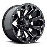 Fuel D576 Assault 20x10 6x135/6x139.7 (6x5.5') -19mm Black/Milled Wheel Rim