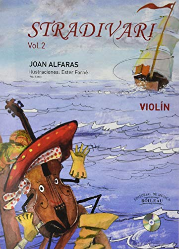 Stradivari violín, Vol. 2 Castellano (CD incluido)