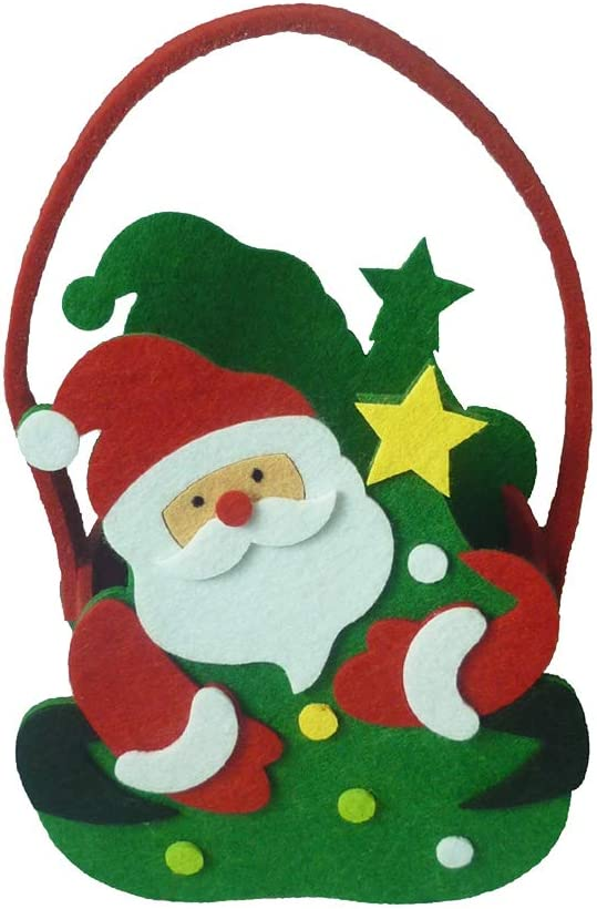 Abaodam Creative Christmas sale Candy Bag Santa Max 83% OFF Design Portable Claus