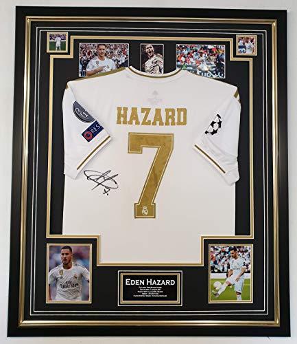www.signedmemorabiliashop.co.uk Rare Eden Hazard of Real Madrid Signed Jersey
