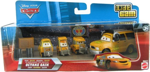 Disney / Pixar CARS Movie 155 Die Cast Cars Exclusive Set Team Octane Gain Crew