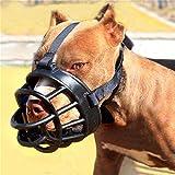 YUXIN ZHAOCHEN Perro bozales Suave for Mascotas Barking Silicona Máscara Facial...