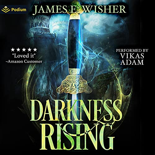 Darkness Rising: Disciples of the Horned One, Volume 1 Audiobook By James E. Wisher cover art