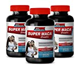 Testosterone Booster Extra Strength - Super MACA Complex - Premium Herbal Supplements - l-arginine and yohimbine - 3 Bottles 180 Capsules