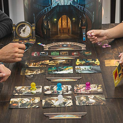 Mysterium Board Game (Base Game) | Mystery Board Game | Cooperative Game for Adults and Kids | Fun for Family Game Night | Ages 10 and up | 2-7 Players | Average Playtime 45 Minutes | Made by Libellud