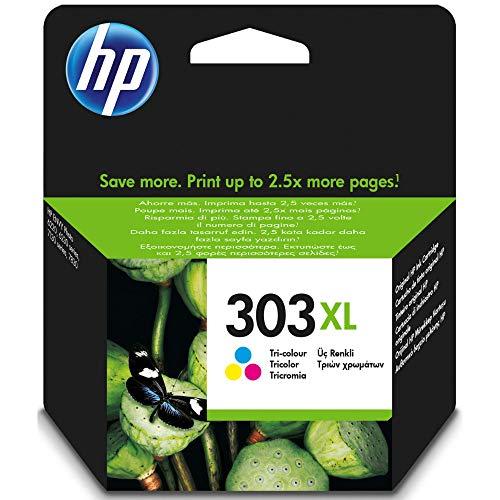 HP 303XL Farbe Original Druckerpatrone mit hoher Reichweite für HP ENVY Photo