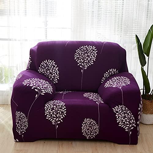copridivano singolo divano sedia fodere decorazione del sedile elastico spandex per soggiorno copridivano elasticizzato stampato floreale, colore 10,1, posti (90,140 cm)