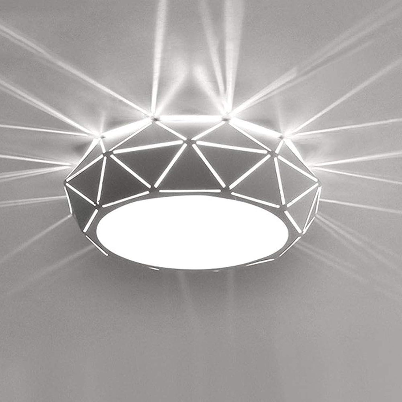 SUNA Moderne Korridorlichter, Kreative Deckenleuchten -3W-Warmwei [Energieklasse A +++]