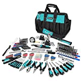 Anti-Corrosive Chrome Finish - All the tools are made with a fully polished, chrome plated finish which protects against corrosion. No need to worry about leaving your tools outdoors as our tools are rust-resistant 269-Piece Tool Kit - This tool set ...