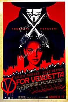 PremiumPrints - DC V for Vendetta Movie Poster Glossy Finish Made in USA - FIL231  24  x 36   61cm x 91.5cm