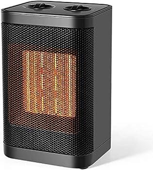 Ceramic 750W/1500W Portable Desk Small Quiet Fast Heating Fan
