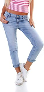 OSAB-Fashion 5067 Women's Jeans Skinny Jeans Trousers Stretch Denim Boyfriend Low-Waist