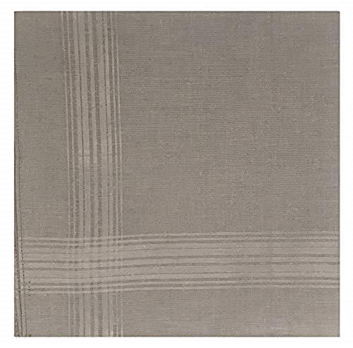 Geoffrey Beene 13 Pack Fine Men's Handkerchiefs (Gray)