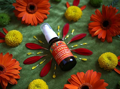 Vitamin C Serum Organic with Sea Buckthorn Queen Bee