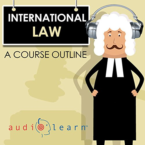 International Law AudioLearn: A Course Outline audiobook cover art