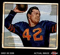 sid luckman football card
