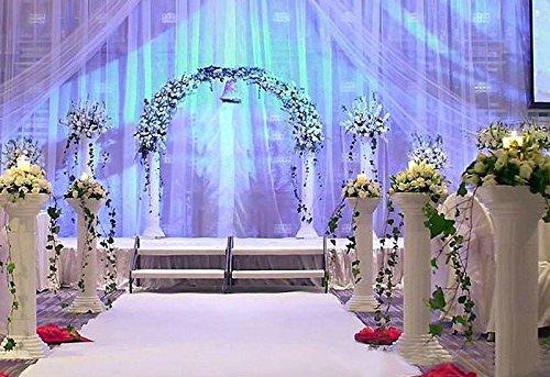 "Efavormart 4 Pillars/Set Wedding Event Decorative Columns 31"" Tall (Ajustable PVC Columns)"